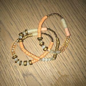 GAP bracelets